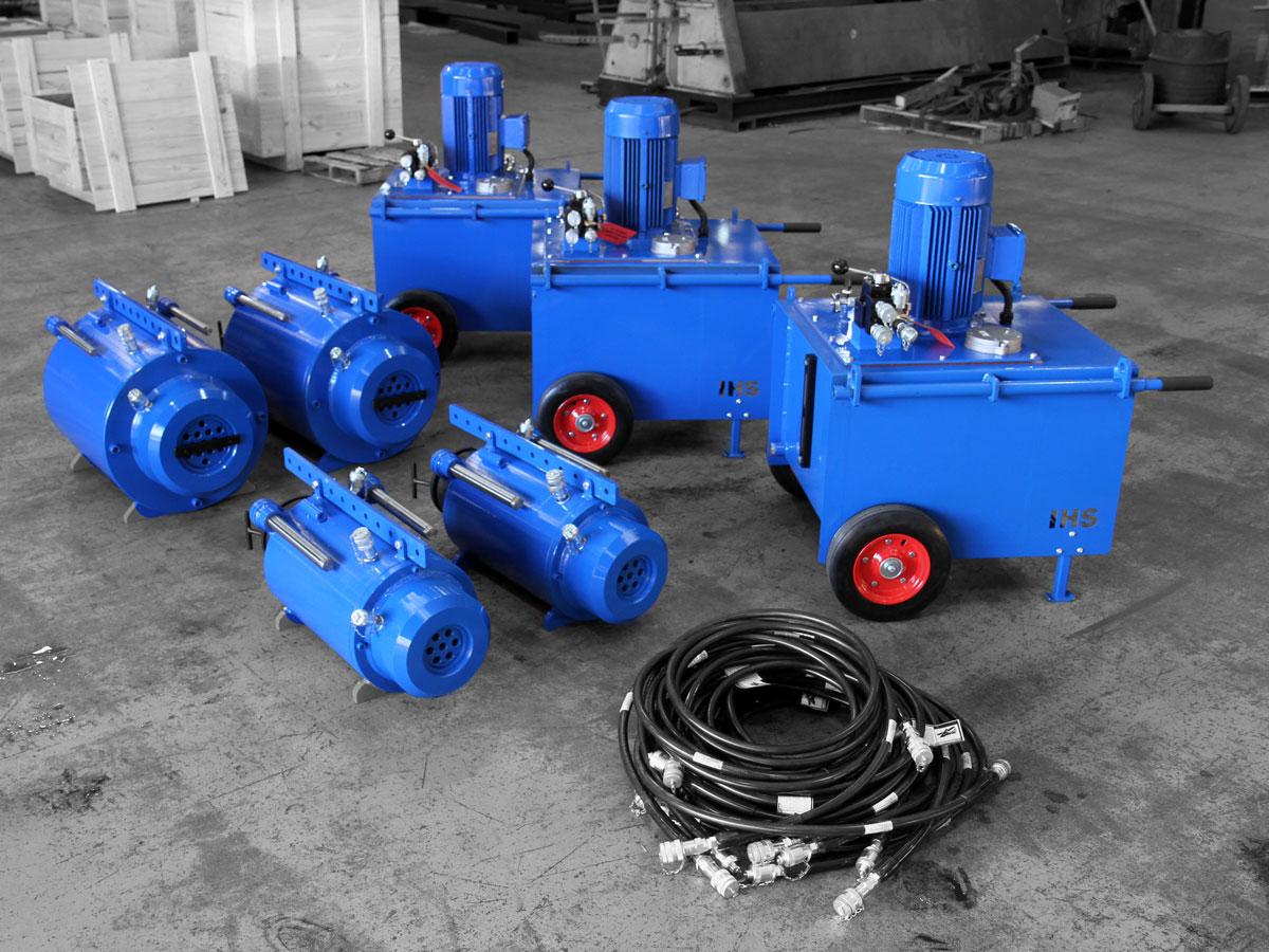 IHS Stressing Equipment